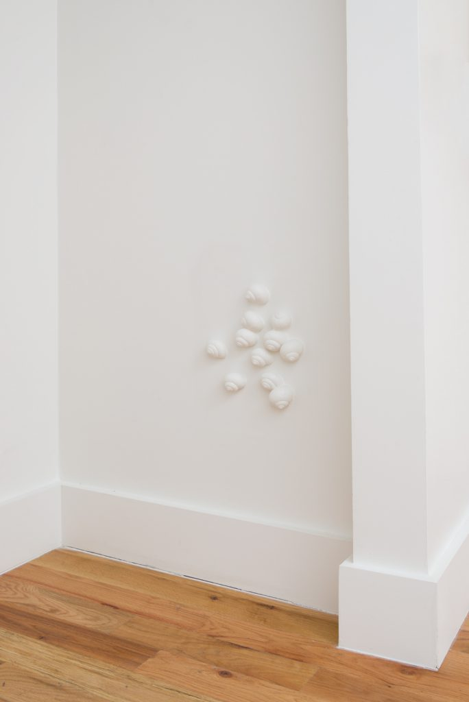 Brody Albert, Introverts, 2017. Plaster. Dimensions variable. Photo: Jeff McLane.