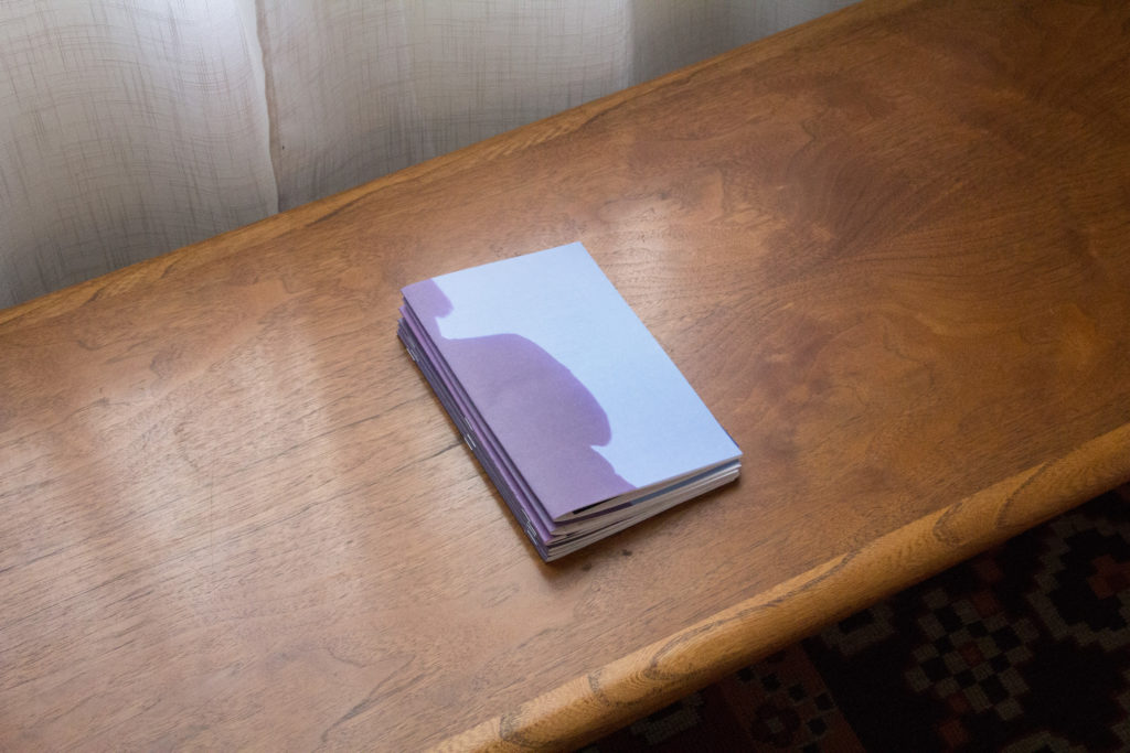 Rachel Yezbick, artist pamphlet